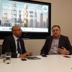 MESF welcomes CAAR Visiting Fellow Professor Abdullah Baabood