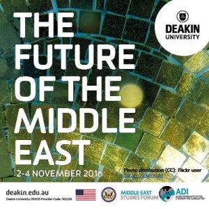 The Middle East Studies Forum's 2016 conference draws to a close