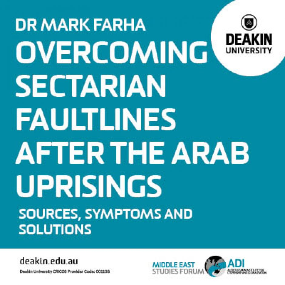 Overcoming Sectarian Faultlines after the Arab Uprisings