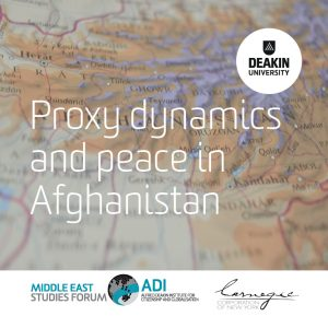 Policy Dialogue I: Proxy dynamics and peace in Afghanistan